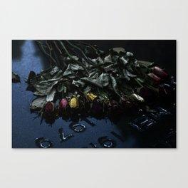The Flowers Knelt Canvas Print