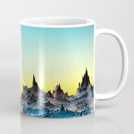 A cold bluish landscape Coffee Mug