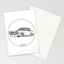 Crazy Car Art 0190 Stationery Cards