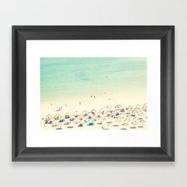 beach XVI Framed Art Print