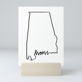 Sweet Home Alabama Mini Art Print