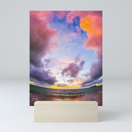Cotton Candy Skies Mini Art Print