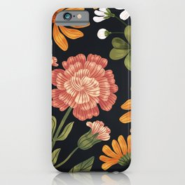 Wild Flowers ~ vol3. ~ dark iPhone Case