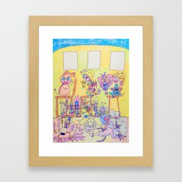 Kelly Bruneau #4 Framed Art Print