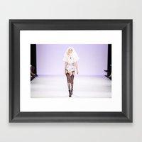 Collecting Pretty Boys Framed Art Print