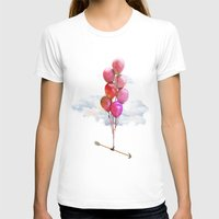 balloons T-shirts featuring Balloons by Syac