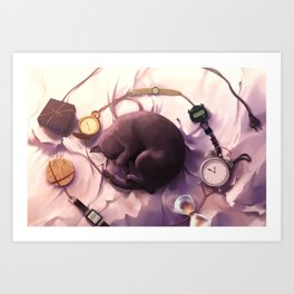Nine lives Art Print