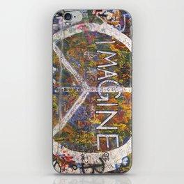 Imagine - Lennon Wall iPhone Skin