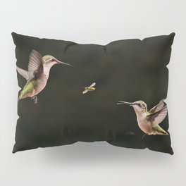 Hummingbirds and bee Pillow Sham
