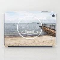 cape cod iPad Cases featuring Cape Cod Paradise  by Caroline Fahey