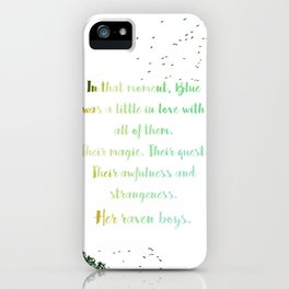 Her Raven Boys iPhone Case