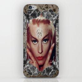 Spooky Witch - Femme Fatale - Anita Ekberg iPhone Skin