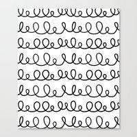 doodle Canvas Prints featuring Doodle by 83 Oranges™