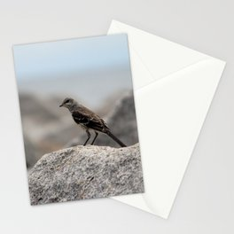 Bird On A Rock By The Sea Stationery Cards