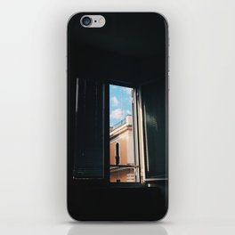 View From A Rome Window iPhone Skin