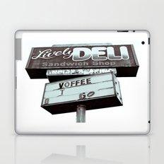 Old deli sign Laptop & iPad Skin