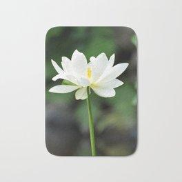 White Lotus Bath Mat