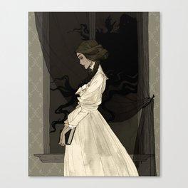 Mina Harker Canvas Print
