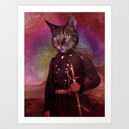General Jackson (cat) Art Print