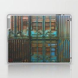 Steel Works Stacked Laptop & iPad Skin