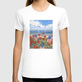 July 4th Poppies T-shirt