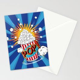 Popcorn - POP! - Stationery Cards