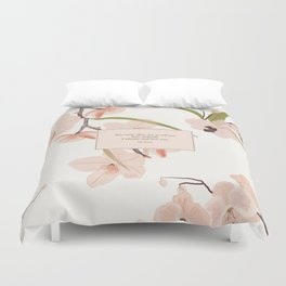 You must allow me...Mr. Darcy. Pride and Prejudice. Duvet Cover