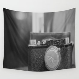 Vintage Leica Camera Wall Tapestry