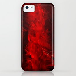 Cool Red Duvet Cover iPhone Case