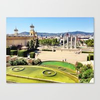 spain Canvas Prints featuring Spain by Emily DiLaura