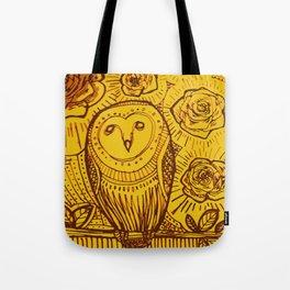 boreal owl Tote Bag