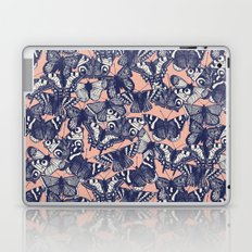 butterfly pale coral Laptop & iPad Skin
