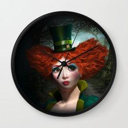 Madam Hatmaker Wall Clock