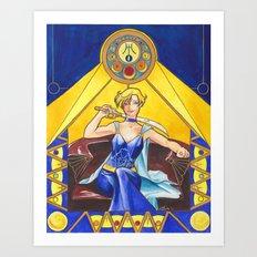 Princess Uranus Art Print