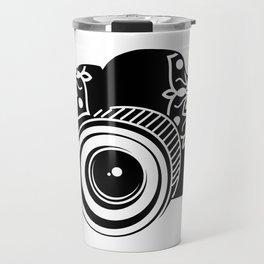 Camera Design Travel Mug