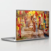 power rangers Laptop & iPad Skins featuring Rangers Alley by ssst