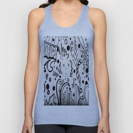 Forming Thoughts Unisex Tank Top