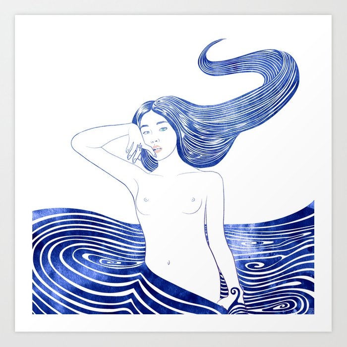 Water Nymph XLV Art Print