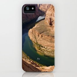 The Colorado River at Horse-shoe Bend iPhone Case