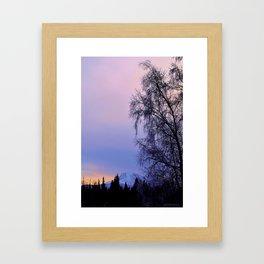 Chugach Mts Serenity Sunrise - I Framed Art Print