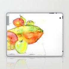 watercolor fruits Laptop & iPad Skin