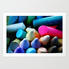 Summer Crafts Art Print