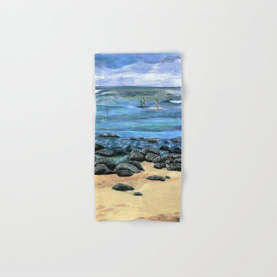 Poipu Beach Landscape Hand & Bath Towel