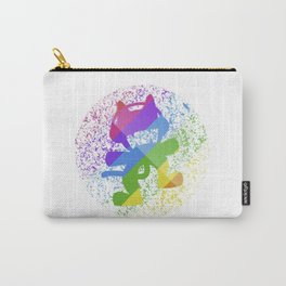 Rainbow MonsterCat Carry-All Pouch