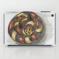 snake iPad Cases featuring Snake by Michelle Behar