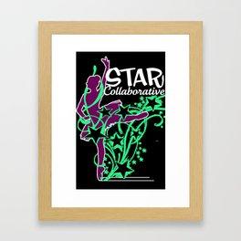 Neon Ballet Collaborative Framed Art Print