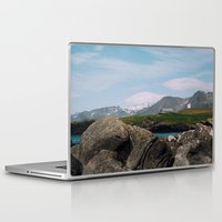 iceland Laptop & iPad Skins featuring iceland by Anna Levina