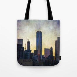 New York City at Sunset Tote Bag