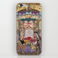sleeping beauty iPhone & iPod Skins featuring Sleeping Beauty by Aimee Stewart