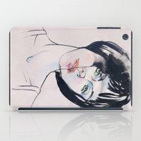 mod iPad Cases featuring Mod Girl by Erin Garey